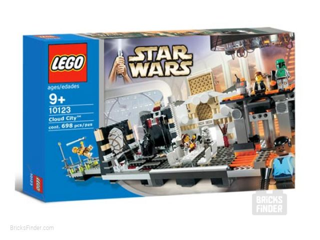 LEGO 10123 Cloud City Box