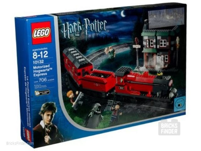 LEGO 10132 Motorised Hogwarts Express Box