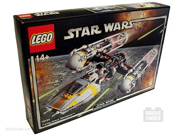 LEGO 10134 Y-wing Attack Starfighter Box