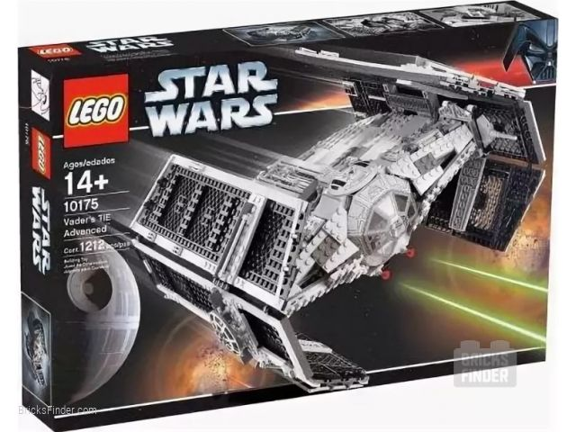 LEGO 10175 Vader's TIE Advanced Box