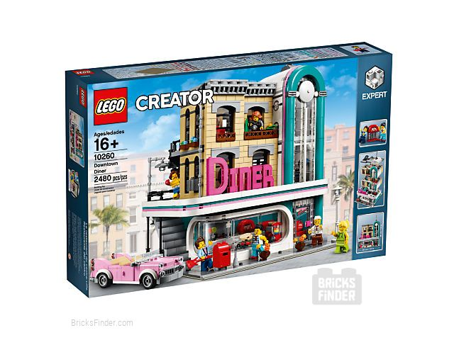 LEGO 10260 Downtown Diner Box