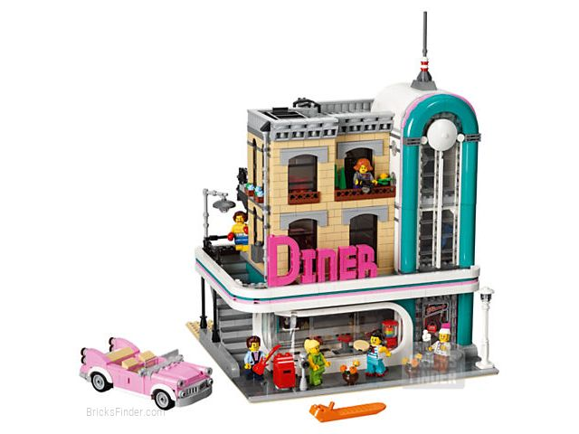 LEGO 10260 Downtown Diner Image 1