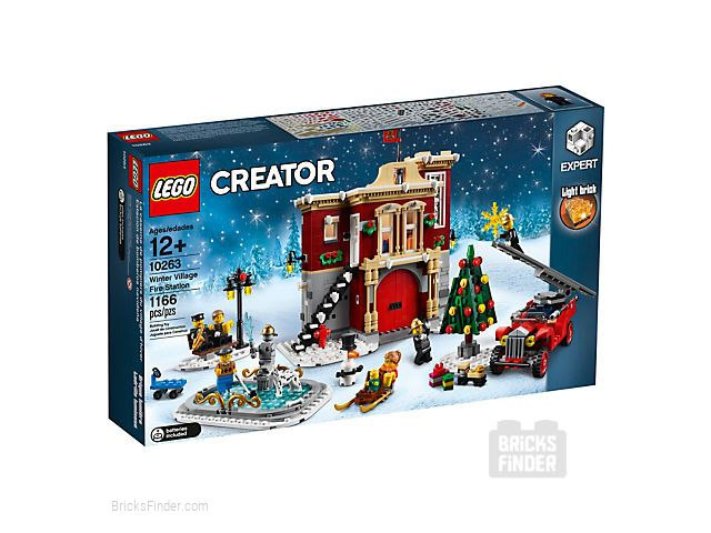 LEGO 10263 Winter Village Fire Station Box