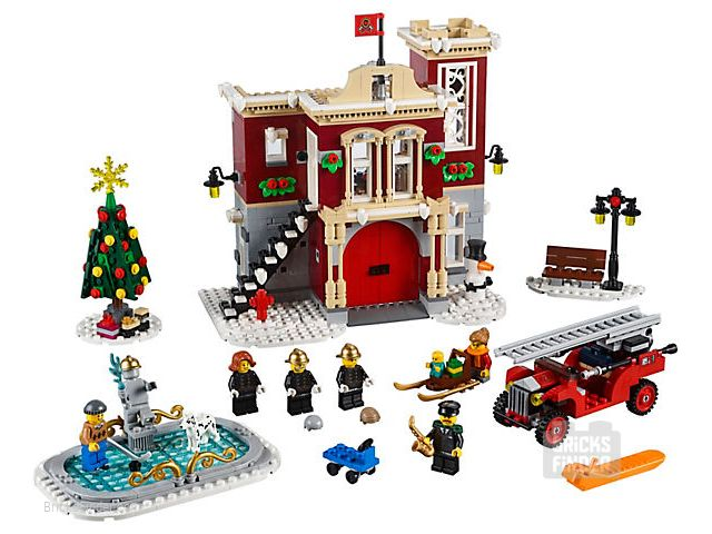 LEGO 10263 Winter Village Fire Station Image 1