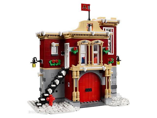 LEGO 10263 Winter Village Fire Station Image 2