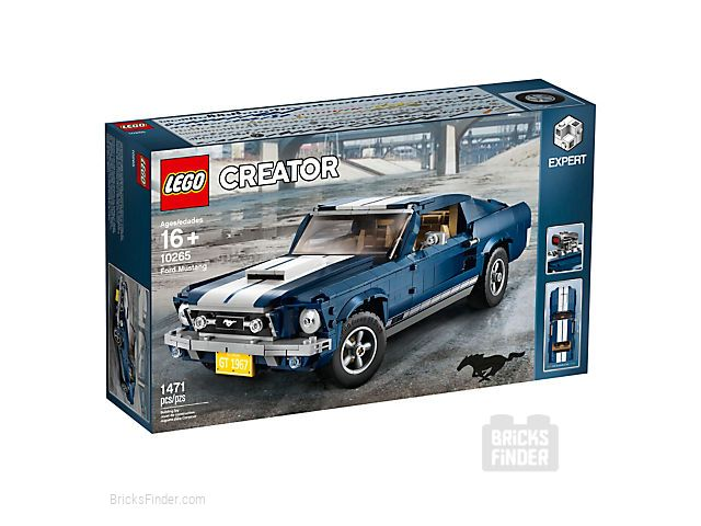 LEGO 10265 Ford Mustang Box