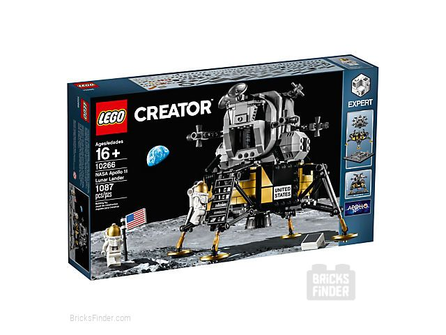LEGO 10266 NASA Apollo 11 Lunar Lander Box