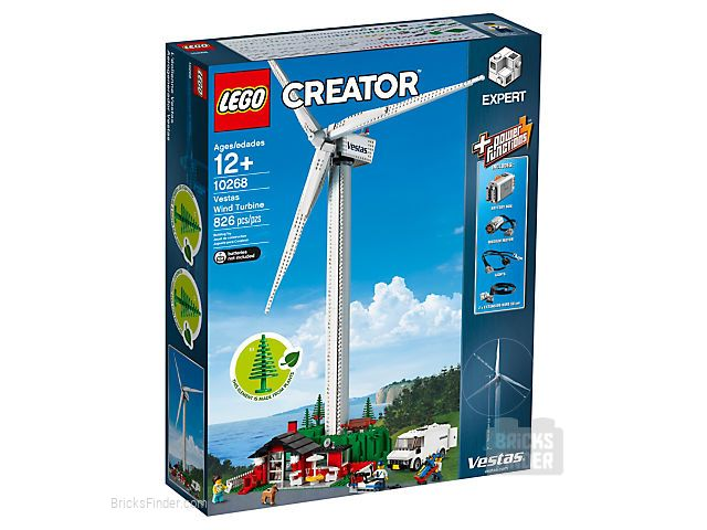 LEGO 10268 Vestas Wind Turbine Box