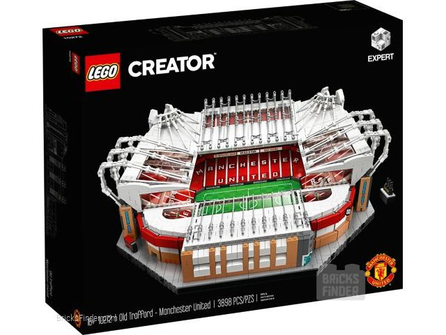LEGO 10272 Old Trafford - Manchester United Box