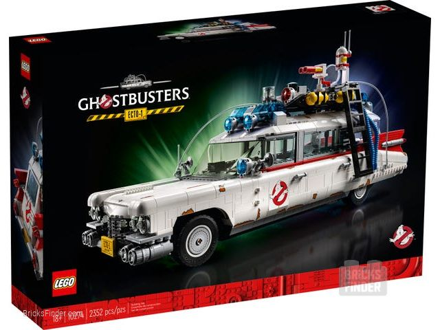 LEGO 10274 Ghostbusters ECTO-1 Box