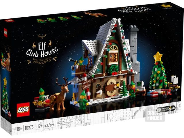 LEGO 10275 Elf Club House Box