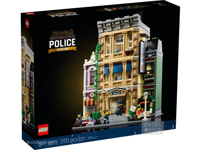 LEGO 10278 Police Station Box