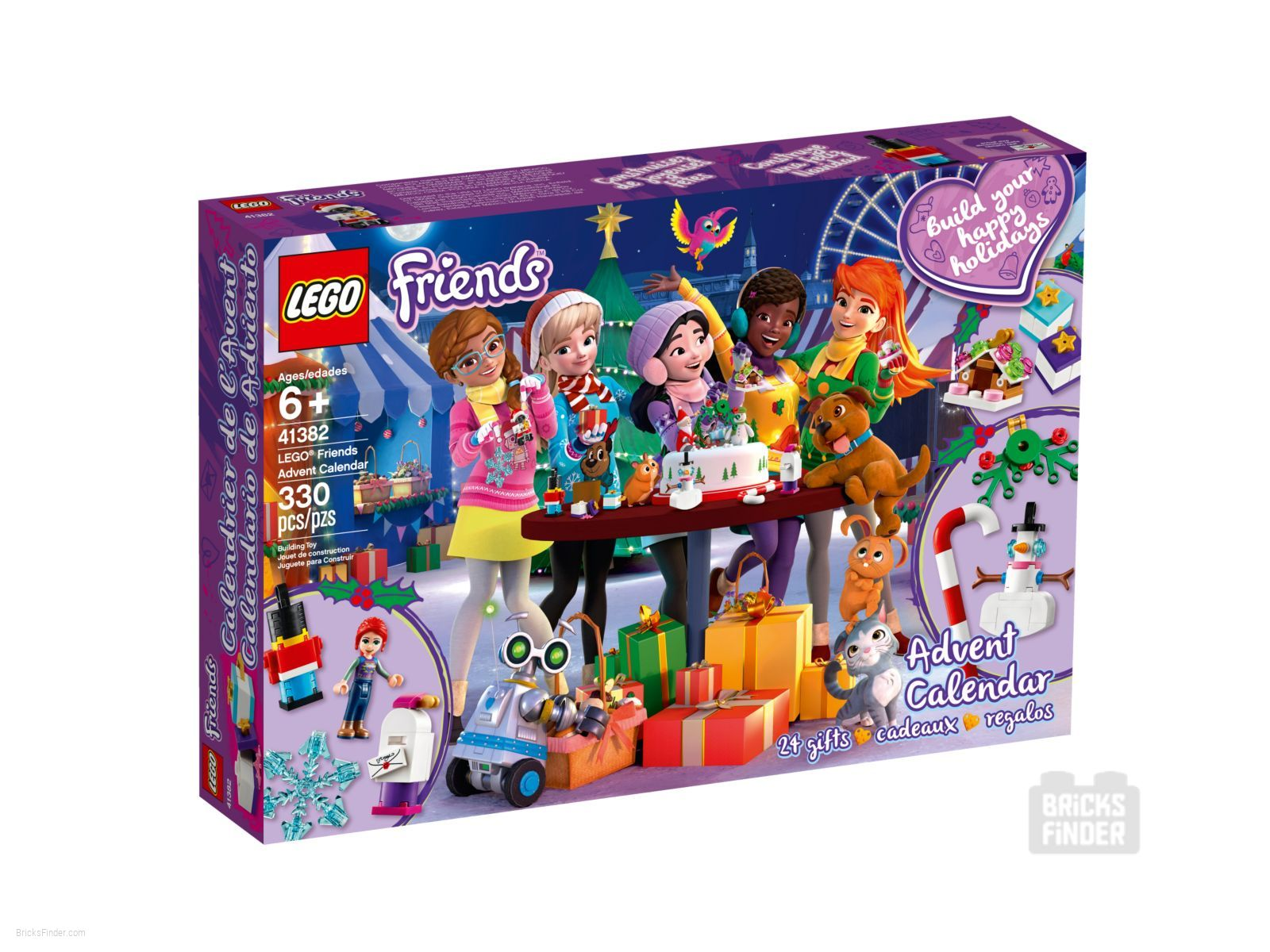 Calendrier 2020 Disney.Lego 41382 Friends Advent Calendar 2020 Friends