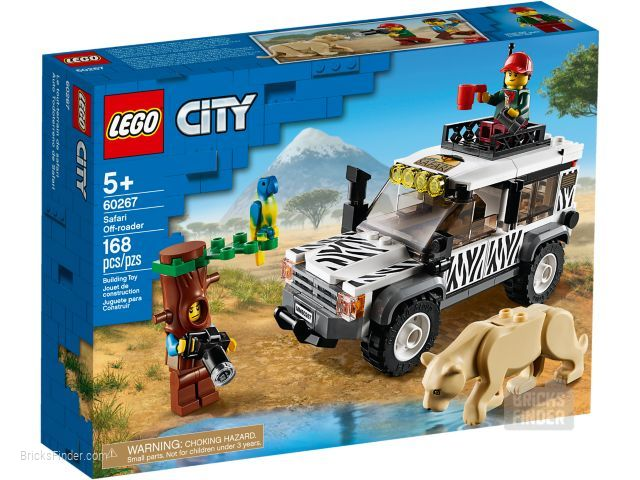 LEGO 60267 Safari Off-Roader Box